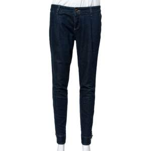 Gucci Dark Blue Denim Tapered Jeans S