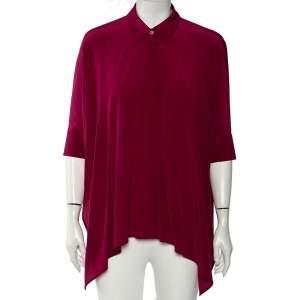 Gucci Fuchsia Oversized Kaftan Shirt S