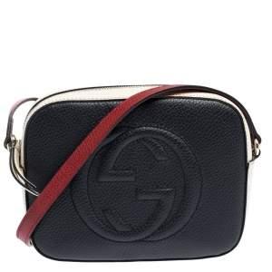 Gucci Tri Color Leather Small Soho Disco Shoulder Bag
