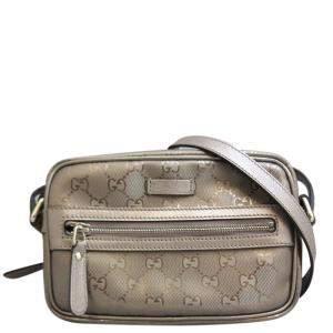 Gucci Brown GG improv PVC Shoulder Bag