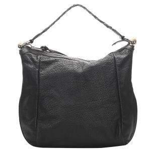 Gucci Black Calf Leather Shoulder Bag