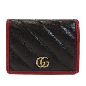 Gucci Black 573811 Leather GG Marmont Wallet