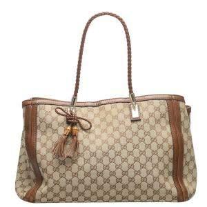 Gucci GG Canvas Bella Tote Bag