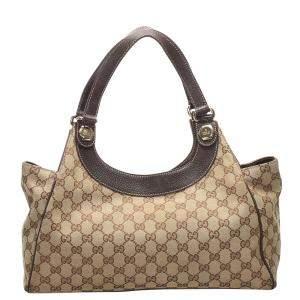 Gucci GG Canvas Charmy Bag
