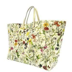 حقيبة غوتشي كانفاس فلورا متعددة الألوان