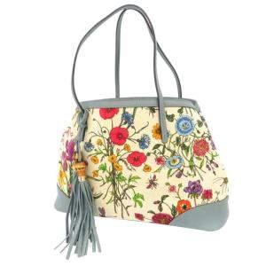 حقيبة غوتشي فينتدج كانفاس فلورا متعدد الألوان