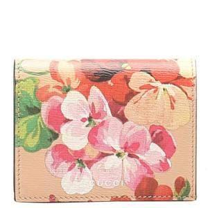Gucci Multicolor Canvas Blooms Bi-fold Wallet
