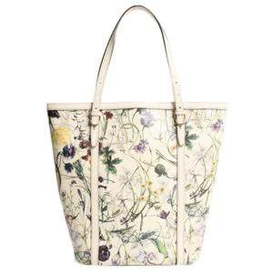 Gucci Multicolor Leather Flora Nice Tote Bag