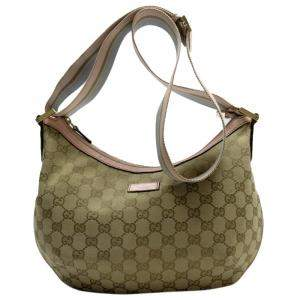 Gucci Beige GG Canvas Messenger Bag