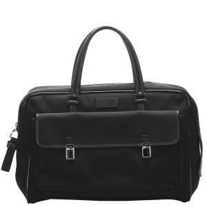 Gucci Black Canvas Business Bag