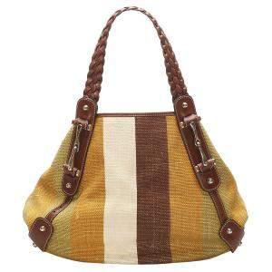 Gucci Brown Canvas Pelham Shoulder Bag