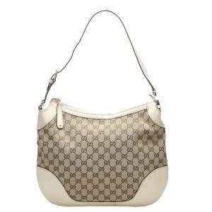 Gucci Brown GG Canvas Charlotte Shoulder Bag