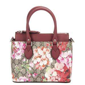 Gucci GG Supreme Canvas Blooms Tote Bag