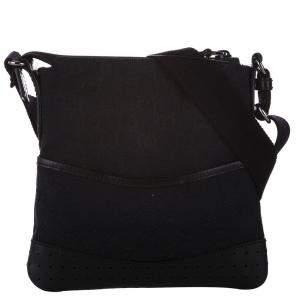 Gucci Black GG Canvas Shoulder Bag