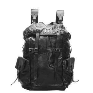 Gucci Black ReBelle Leather Backpack