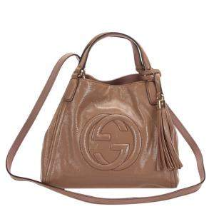 Gucci Brown Leather Soho Bag