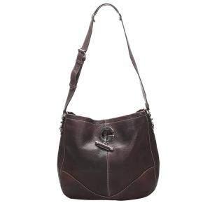 Gucci Purple Charlotte Leather Shoulder Bag