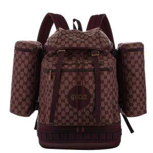 Gucci Brown GG Canvas Large 2019 Backpack