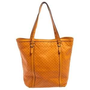 حقيبة غوتشي نايس جلد مايكروغوتشيسيما برتقالية