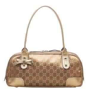 Gucci GG Canvas Princy Boston Bag