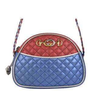 Gucci Multicolor Leather Trapuntata Mini Crossbody Bag