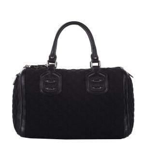 Gucci Black Canvas Guccissima Techno Neoprene Tote Bag