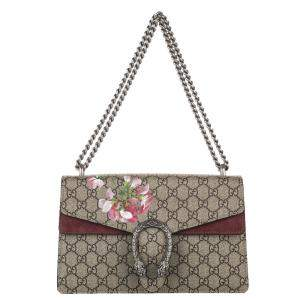 Gucci GG Supreme Canvas Blooms Dionysus Small Bag