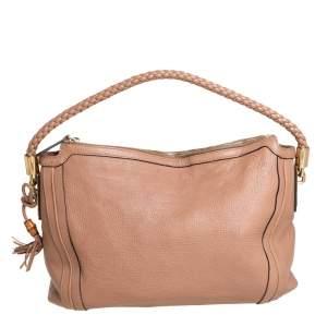 حقيبة غوتشي بيلا جلد بيج متوسطة
