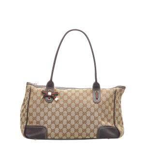 Gucci GG Canvas Princy Tote Bag
