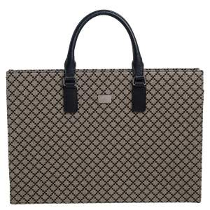 Gucci Beige Diamante Canvas Tote
