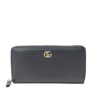 Gucci Black GG Leather Wallet