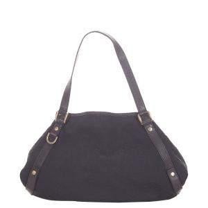 Gucci Black GG Canvas Pelham Tote Bag
