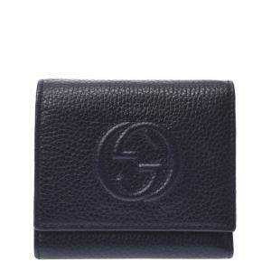 Gucci Black Leather Soho Wallet