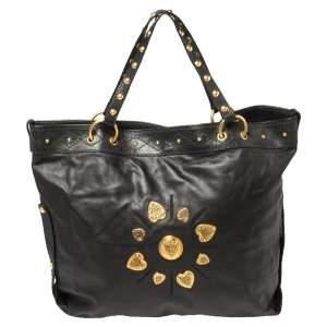 حقيبة يد غوتشي ايرينا كبيرة جلد أسود