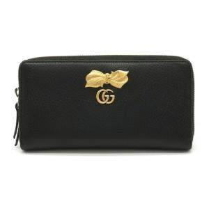 Gucci Black Leather Bow Wallet