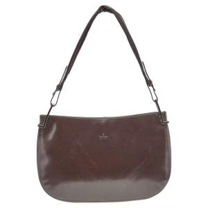 Gucci Brown Leather Hobo