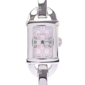 Gucci Silver Stainless Steel 6800L Women's Wristwatch 18 x 22 MM