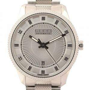 Gucci Silver Stainless Steel Eryx 126.3 Women's Wristwatch 40 MM