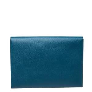 Hermes Colvert/Khaki Epsom Leather Calvi Pouch GM