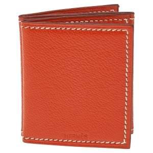 Hermes Feu Chevre Mysore Leather Photo Frame Holder