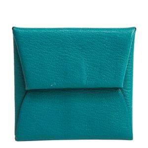 """محفظة نقود معدنية """"باستيا"""" جلد باون شيفر أزرق"""