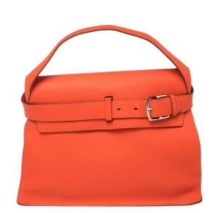 Hermes Capucine Taurillion Clemence Leather Etribelt Bag