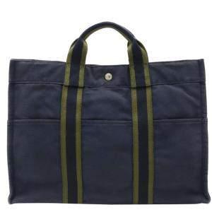 حقيبة يد هيرمس فور توت كحلية MM