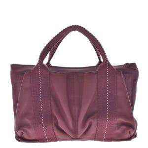 Hermes Red Leather Caravan Horizontal PM Shoulder Bag