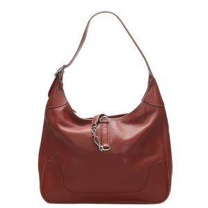 Hermes Brown Courchevel Leather Trim II 31 Bag