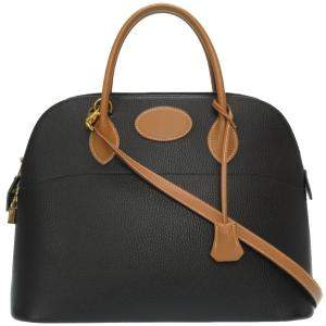 Hermes Black Ardennes Leather Bolide 35 Bag
