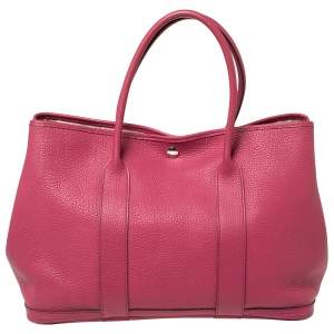Hermes Tosca Negonda Leather Garden Party 36 Bag