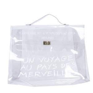Hermes Transparent Vinyl Limited Edition Kelly Bag