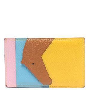 Hermes Multicolor Les Petits Chevaux Card Holder