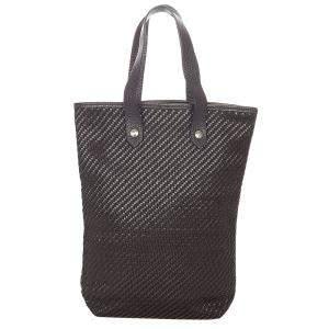 Hermes Black Fabric Cotton Ahmedabad Tote Bag